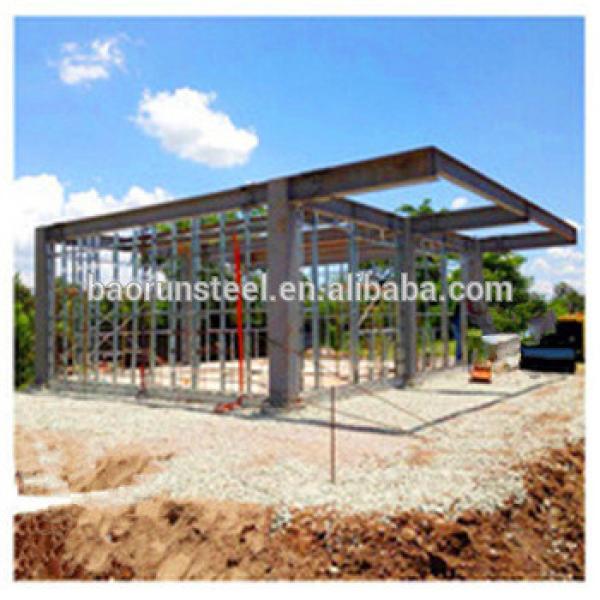2015 the latest luxury prefab steel villa design , 4 bedrooms light steel structure house villa #1 image