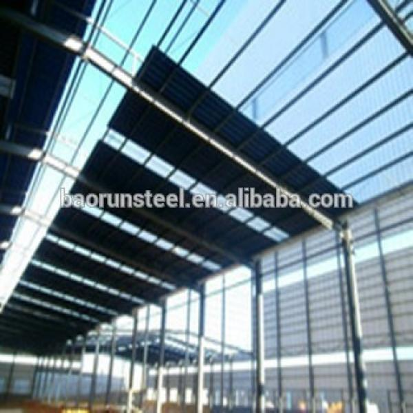 ISO 9001:2008 ,CE,BV Certified/ steel structure building /factory/green house/ warehouse #1 image