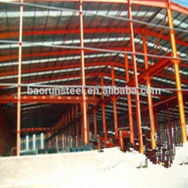 Prefabricated design two story steel structure warehouse for hangar #1 image