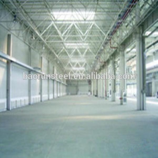 Prefabricated economic SGS certification low cost steel sturcture warehouse #1 image