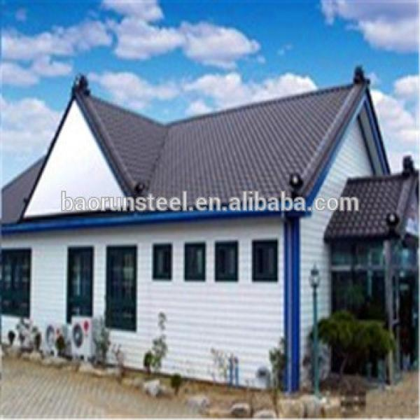 Prefabricated homes /luxury light steel villa/prefab shipping container house for sale #1 image