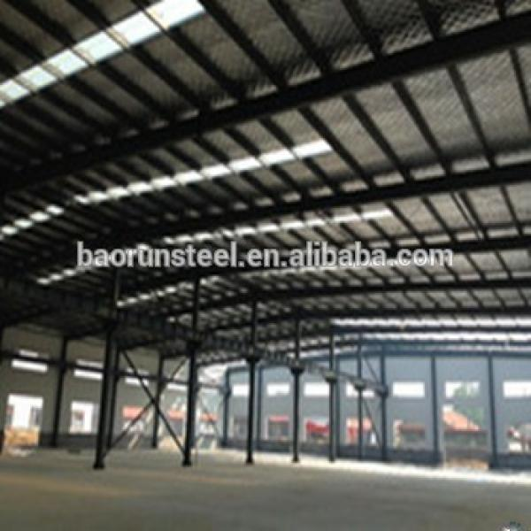 Color steel sheet for wall & sandwich panel for roof, Eco plan for prefabricated warehouse #1 image