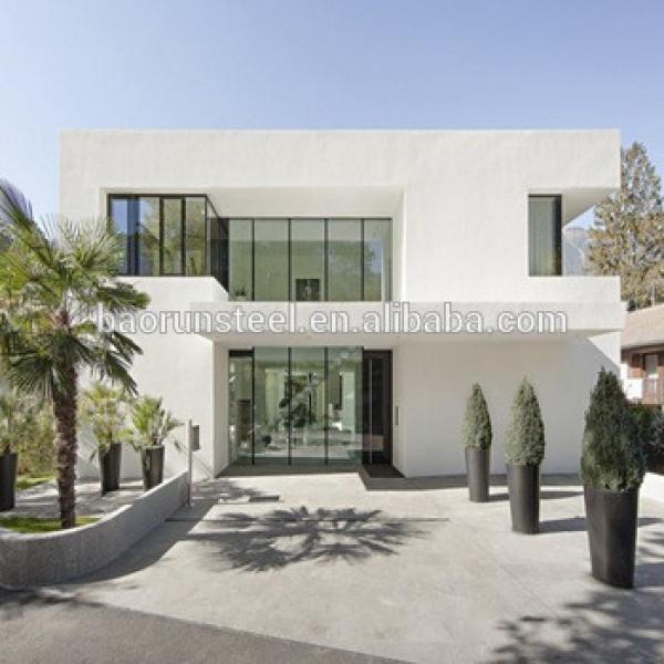baorun made Low Cost Prefabricated Light Steel Frame House #1 image