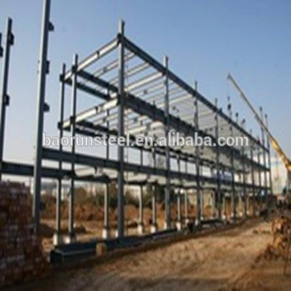 Moveable Prefab Galvanized Steel Construction House/Workshop #1 image