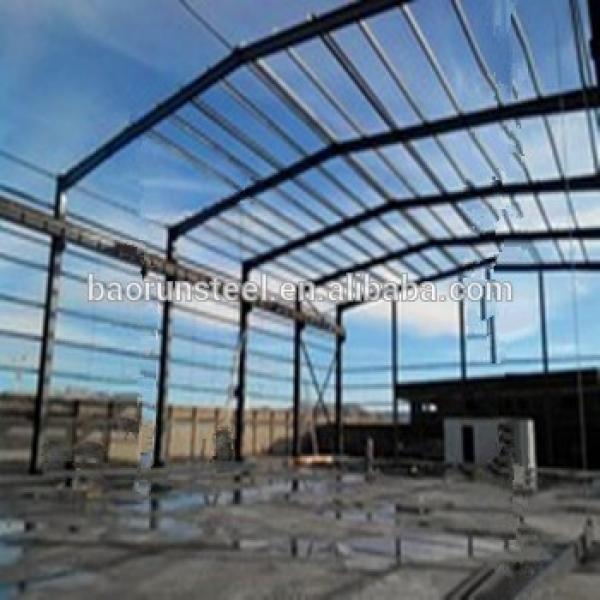 Prefab professional large span steel structure mobile cheap prefab garage #1 image