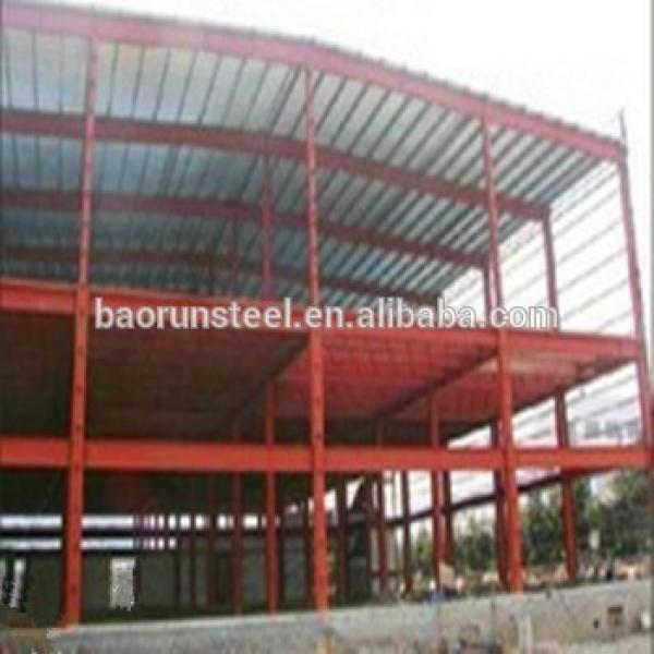 Bolts connected low cost prefabricated steel structure warehouse #1 image