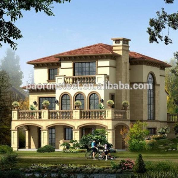 baorun Luxury Modern Design China Supplier Low Cost Prefab Houses Poland #1 image