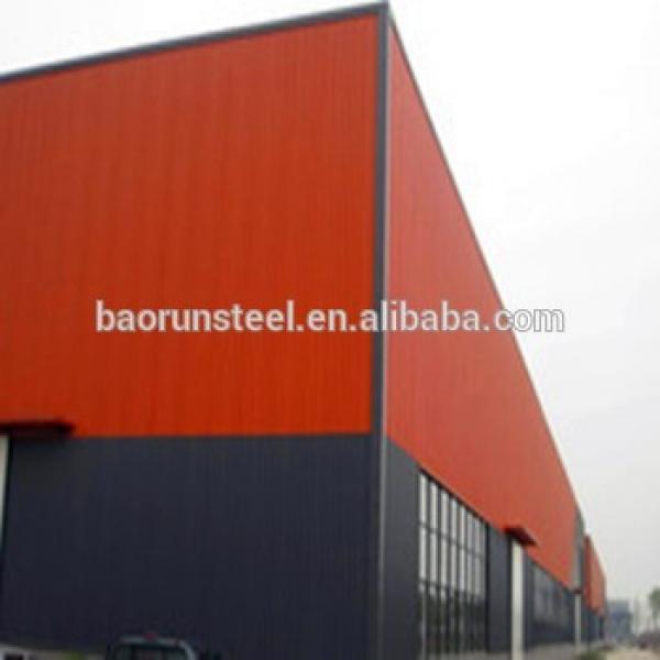 Main prefab Steel Frame EPS Energy-Saving Wall Panel Prefabricated warehouse #1 image