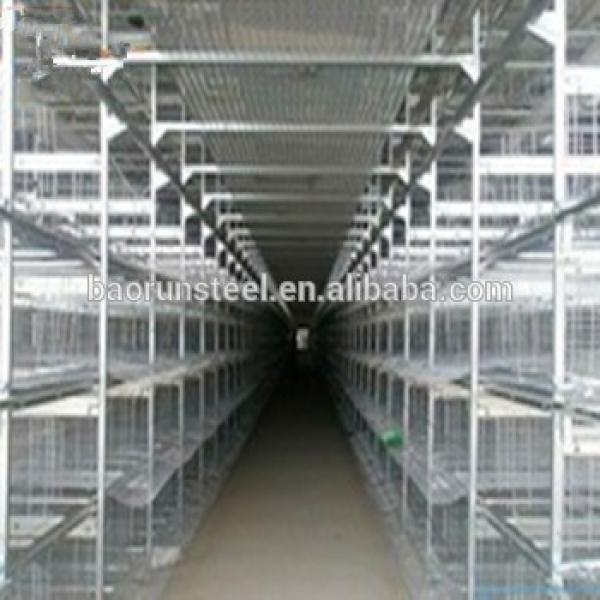 High quality pre fabricated buildings light steel structure warehouse #1 image