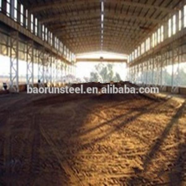 Design And Manufacture Prefabricated steel structure hay shed #1 image