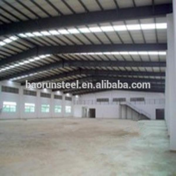 Supplier light structure roof design steel structure flat roof with EPS #1 image