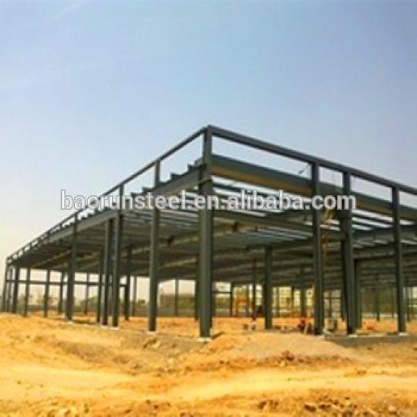 Prefab building a steel shed iron structure light gauge steel house #1 image
