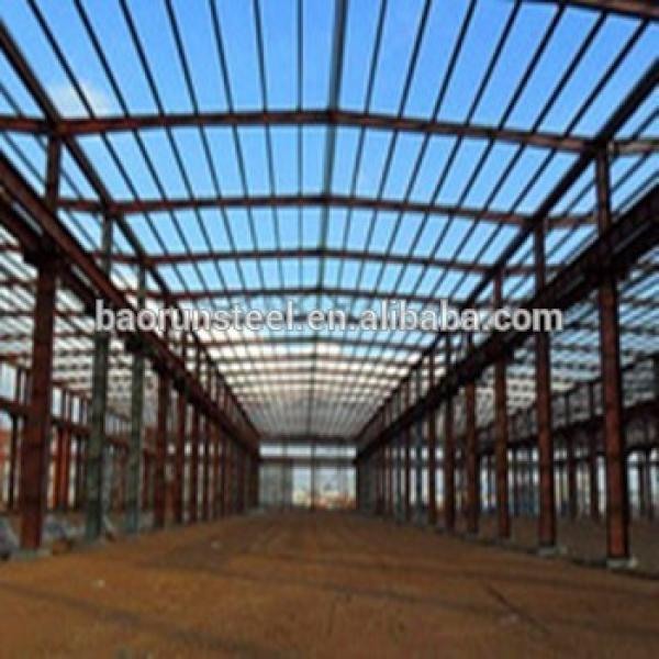 Main prefab Logistics Warehouse In Qingdao car showroom structure warehouse #1 image