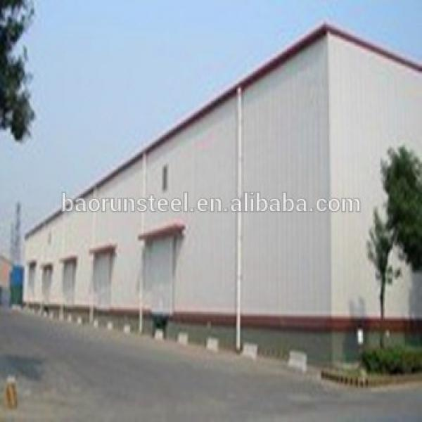 Manufacture and design 2015 New Energy Saving Steel Structure warehouse/factory/workshop/shed on sale #1 image