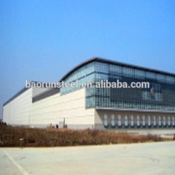 Sale prefabricated portable small steel structure warehouse #1 image