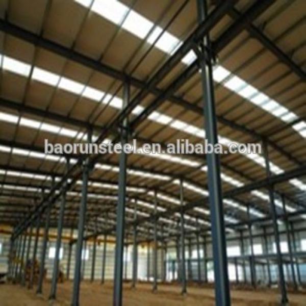 Export portal frame building prefabricated steel frame workshop warehouse sale #1 image