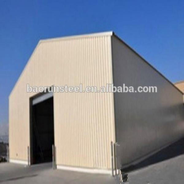 China offer long span prefabricated steel structure warehouse/workshop/shed #1 image