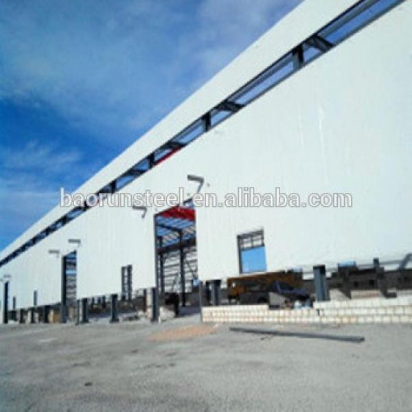 2015 New Design Roofing Truss System Light Steel Frame Prefabricated Warehouse #1 image