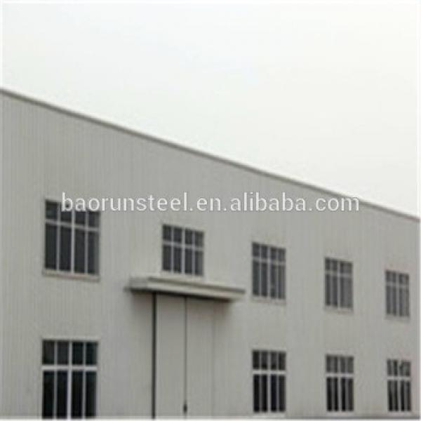 Prefab Construction Building Arch Roof Structure For Warehouse #1 image