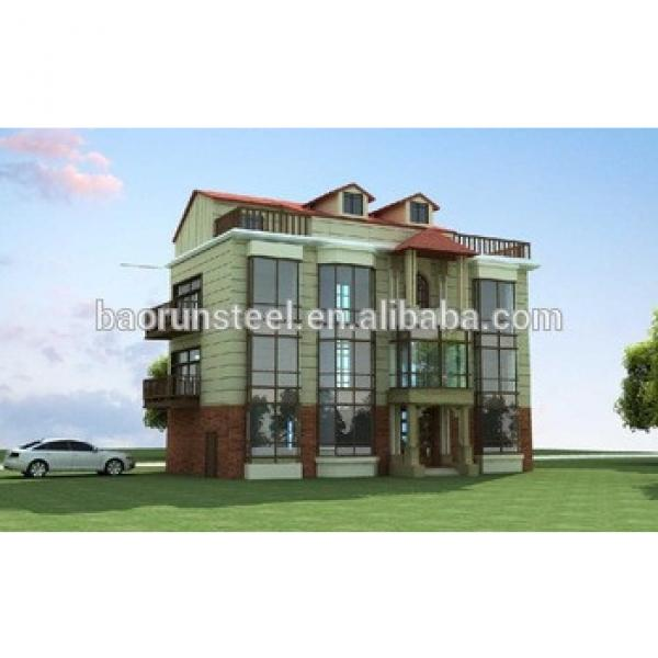 Steel Structure Building house /Eps cement sandwich panel #1 image