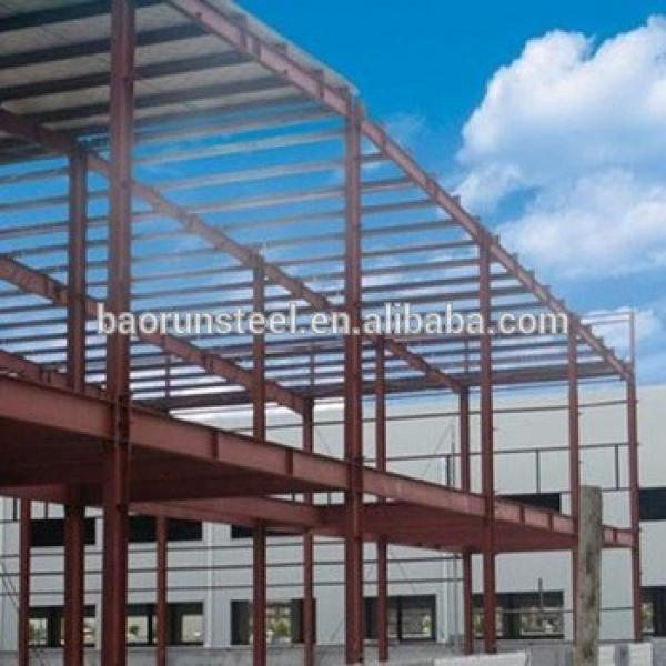 china manufacture prefabricated light Steel fast Building construction #1 image