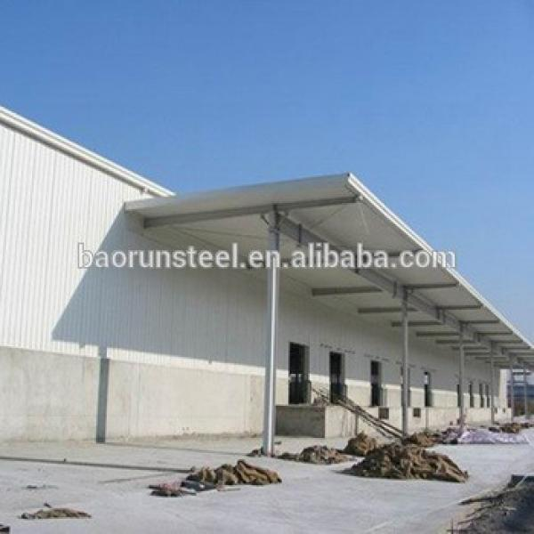 China baorun steel structure prefab warehouse materials for sale #1 image
