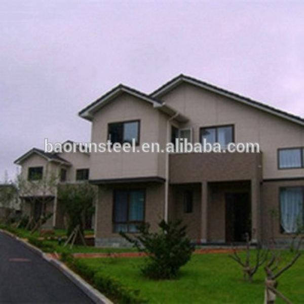 China supplier prefabricated light steel structure villa drawing design #1 image