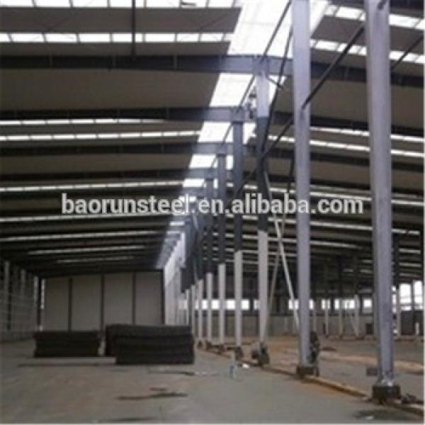 China low price and high quality steel structure fabrication for warehouse/ workshop #1 image