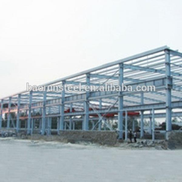 Prefabricated light steel structure warehouse modular warehouse building #1 image