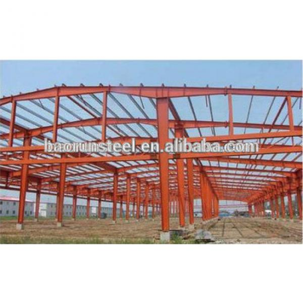 SST 50100 Big prefabricated steel structure warehouse #1 image
