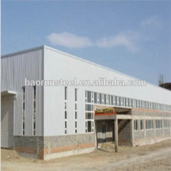 Low cost large span prefab used prefabricated warehouse #1 image