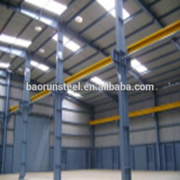 Steel company prefab steel structrue warehouse/prefabricated steel warehouse #1 image
