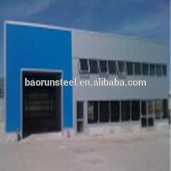 Steel structure sandwich panel prefab chicken farm #1 image