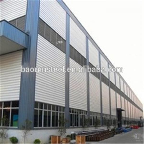 low cost and prefabricated galvanized steel structure workshop/warehouse/buiding-made in Qingdao #1 image