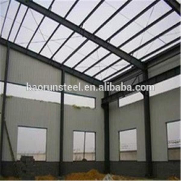 Prefabricated Storage Building Heavy/Light Steel Structure Warehouse #1 image