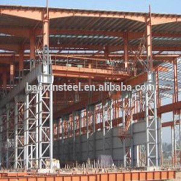 Steel structure two story building and steel structure tent #1 image