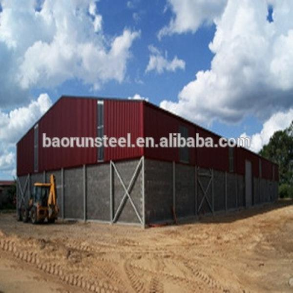 Steel construction building steel structure supermarket structural metal hotel carports industrial buildings #1 image
