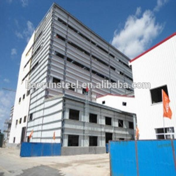 Low cost prefabricated high rise steel building #1 image