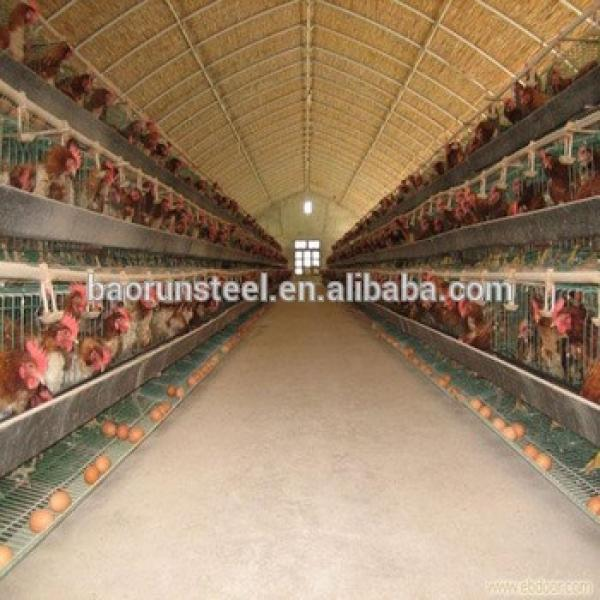 light steel structure prefabricated chicken farm #1 image