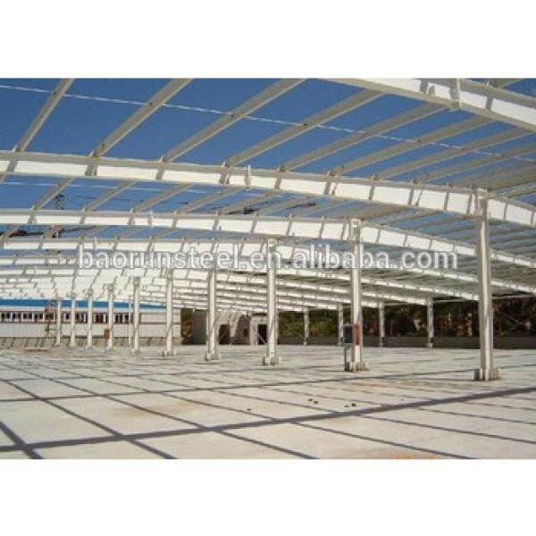Prefabricated high quality steel structure factory building #1 image