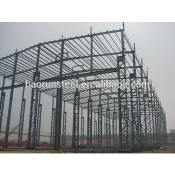 high quality light steel structure/construction building workshop #1 image