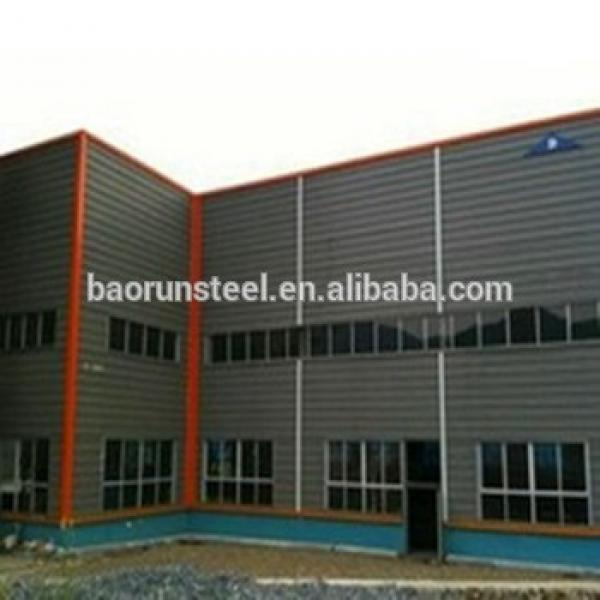 skylight prefabricated steel structural warehouse #1 image