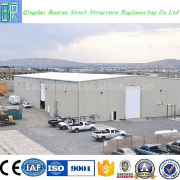 Long Span Steel Structure Space Frame Prefabricated Warehouse Building #1 image
