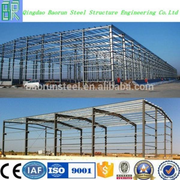 Fast construction galvanized steel structure prefabricated warehouse #1 image