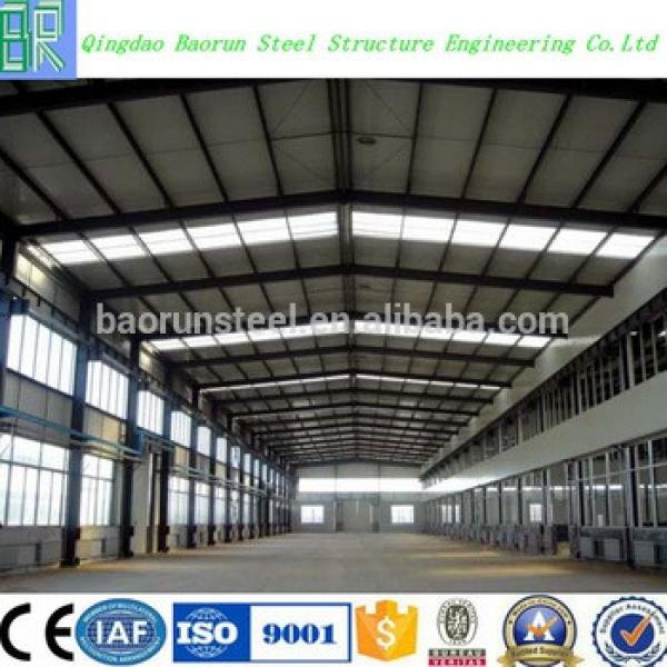 low cost frame industrial steel structure fabricated warehouse #1 image