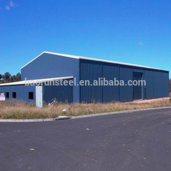 Prefab steel structure factory frame warehouse shed building #1 image