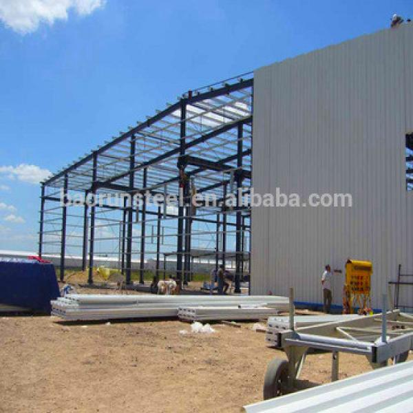 Prefabricated warehouse China supplier large span and long life #1 image