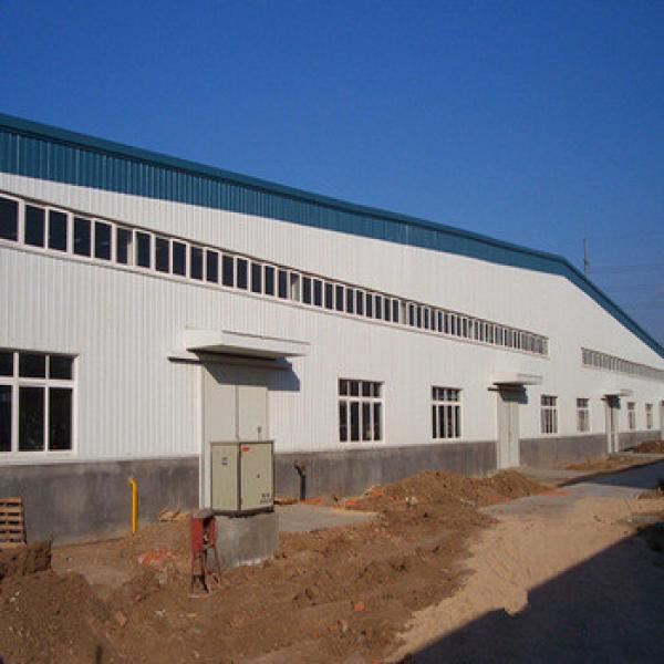 Long span China manufacturer workshop prefabricated industrial shed #1 image