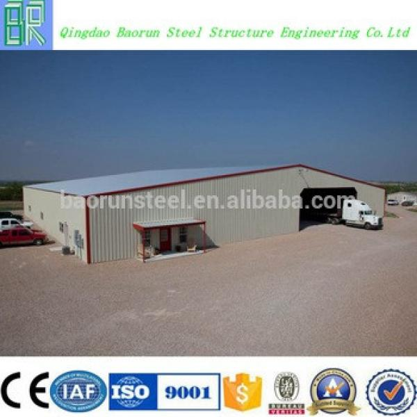 Hot sale galvanized steel frame structure low cost prefab warehouse #1 image