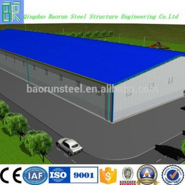 Steel Structure Prefabricated Warehouse Building Plans #1 image
